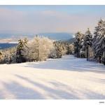 traumhafte Winterlandschaft am Inselsberg