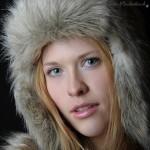 Franzi als Eskimo