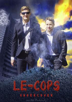 Kinoplakat LE-Cops undercover