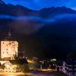 Mariastein Österreich bei Nacht