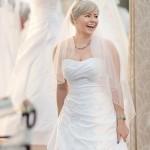 tolle Brautkleidauswahl auf der Hochzeitsmesse