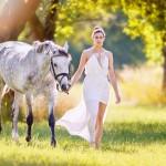 Pferdeshooting ein Sommertraum