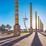 Higlights in Barcelona -Olympiagelände