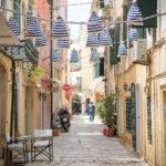 Korfu Altstadt Gassen