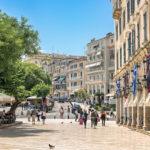 Korfu Altstadt - Liston Akaden von Sisi - Tulpe-Production