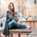 Künstlerportrait von Franziska Pietsch - Portrait Fotos von Tulpe-Production