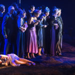 Olena Tokar Opernsängerin Oper Leipzig - Rusalka Premiere