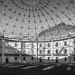 Architekturfoto Leipzig in schwarz-weiss