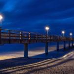 Reisebericht Graal-Müritz Seebrücke bei Nacht - Fotograf Tulpe-Production.de
