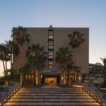 Haupteingang Clubhotel Calimera Sirens Beach Kreta
