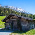 Fotos von Söll - Hintersteiner See - alte Holzhütte
