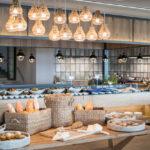 Abendbrotbufett im Settemari Clubhotel Kreta