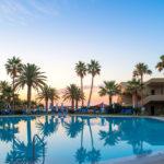 Reisebericht Kreta - Abendstimmung am Ruhepool