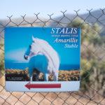 Hinweisschild füe Eigenanreise Reitausflug Kreta