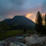 Landschaftsfoto Sonnenuntergang - Reisebericht von Tulpe-Production. de - Berghof Söll