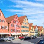 Fachwerk in der Altstadt Reisebericht Dinkelsbühl