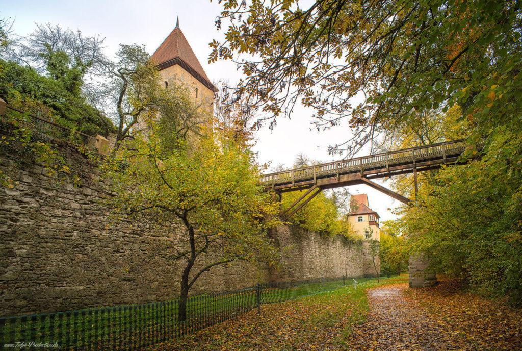 Reisebericht Dinkelsbühl Stadtmauer
