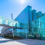 Lissabon Glasbau auf dem Expogelände