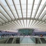 Reisebericht Lissabon Metrostation Oriente