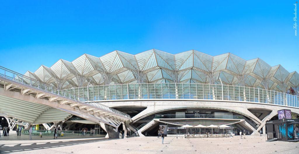 Lissabon Geheimtip Expogelände Bahnhof Oriente