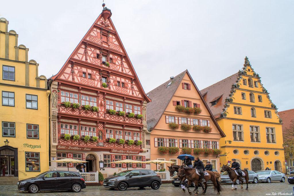 Fachwerk in Reisebericht Dinkelsbühl - schönste Altstadt Deutschlands