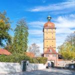 Reisebricht Dinkelsbühl - schönste Altstadt Deutschlands - Stadttor