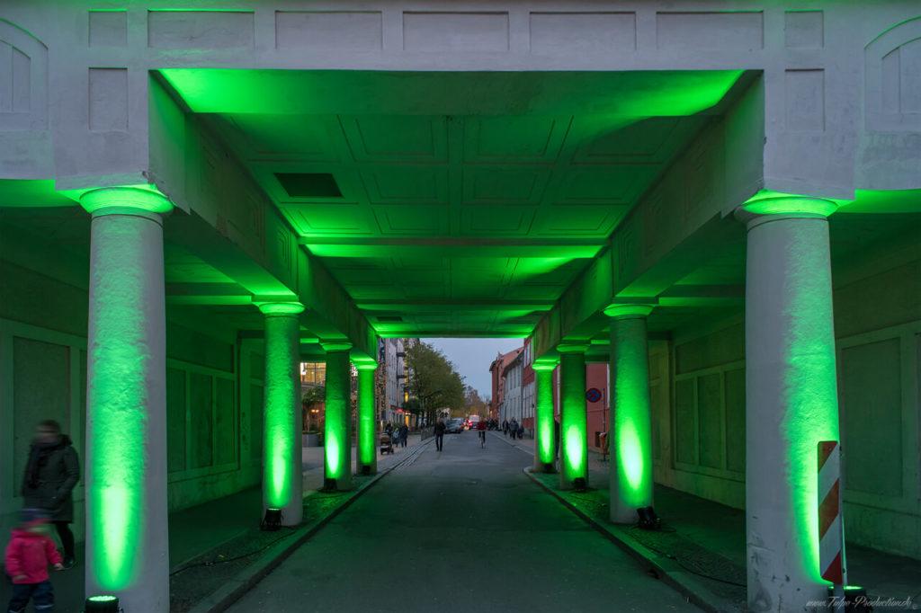 Lichtfest in Rostock