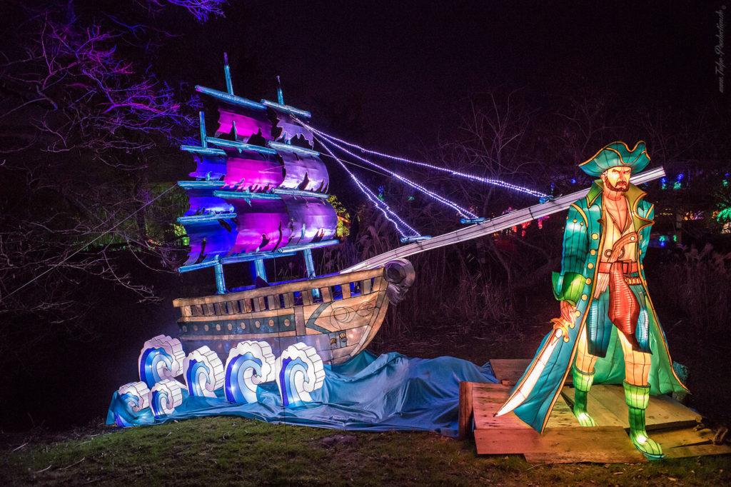 Zoo Halle magische Lichterwelten