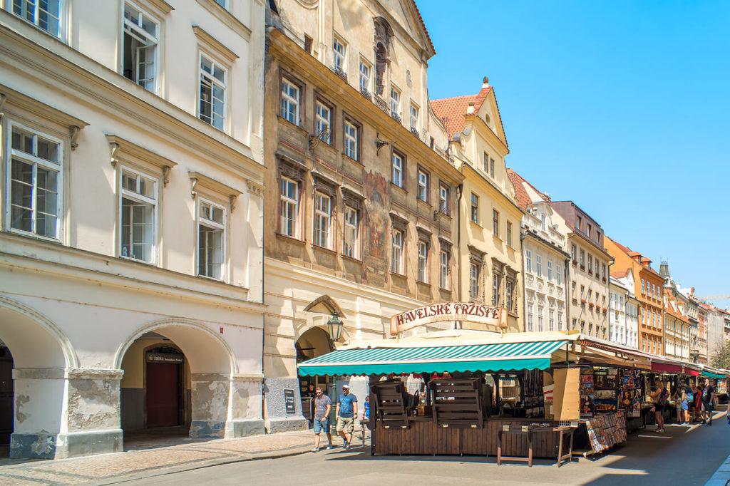 Havel Markt in Prag