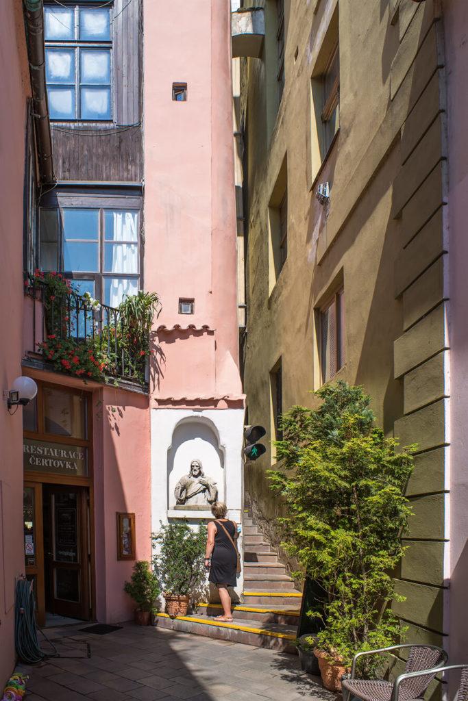 kleinste Straße von Prag
