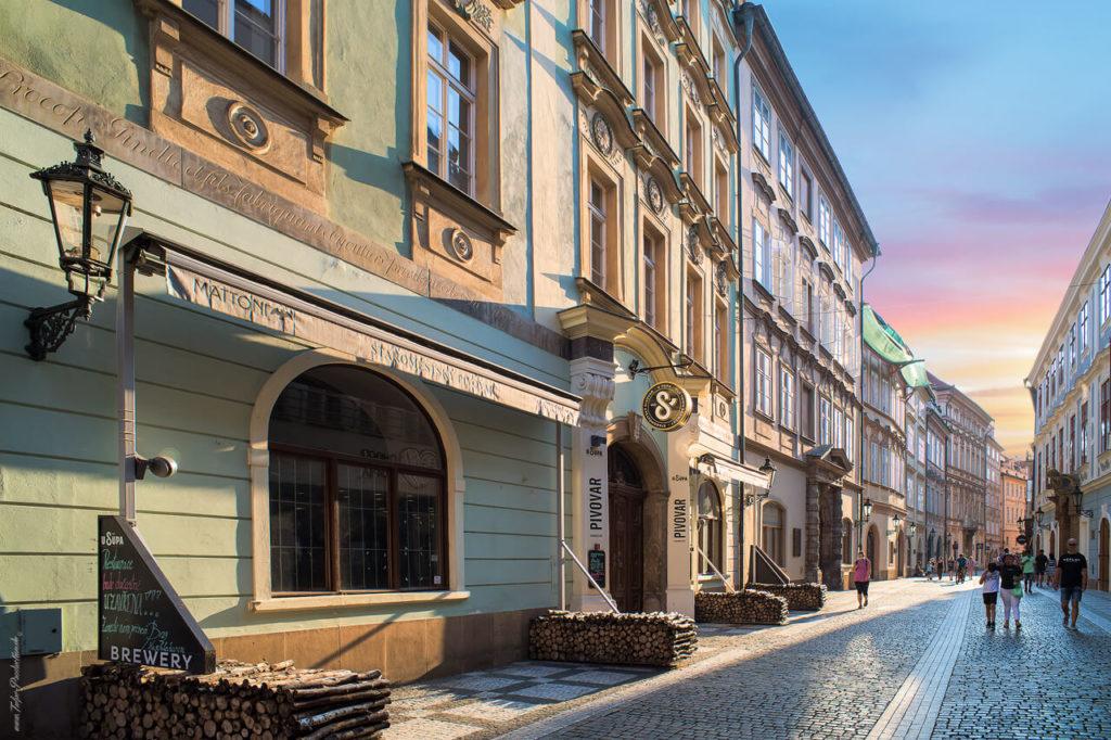 Menschenleere Straßen in Prag dank Corona