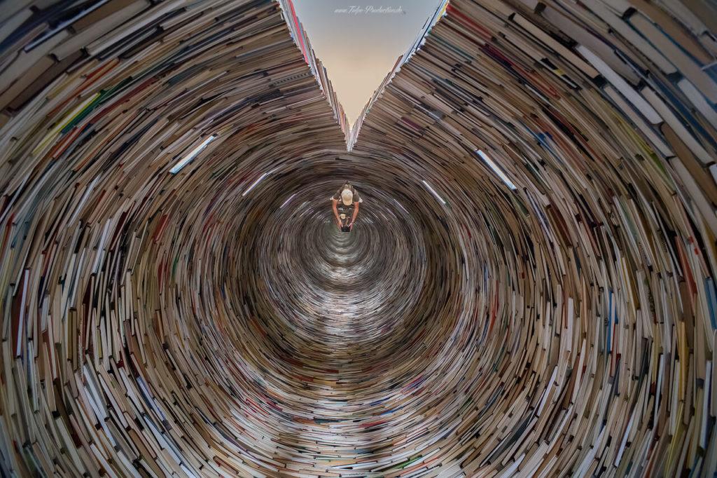 Im Bücherturm in Prag