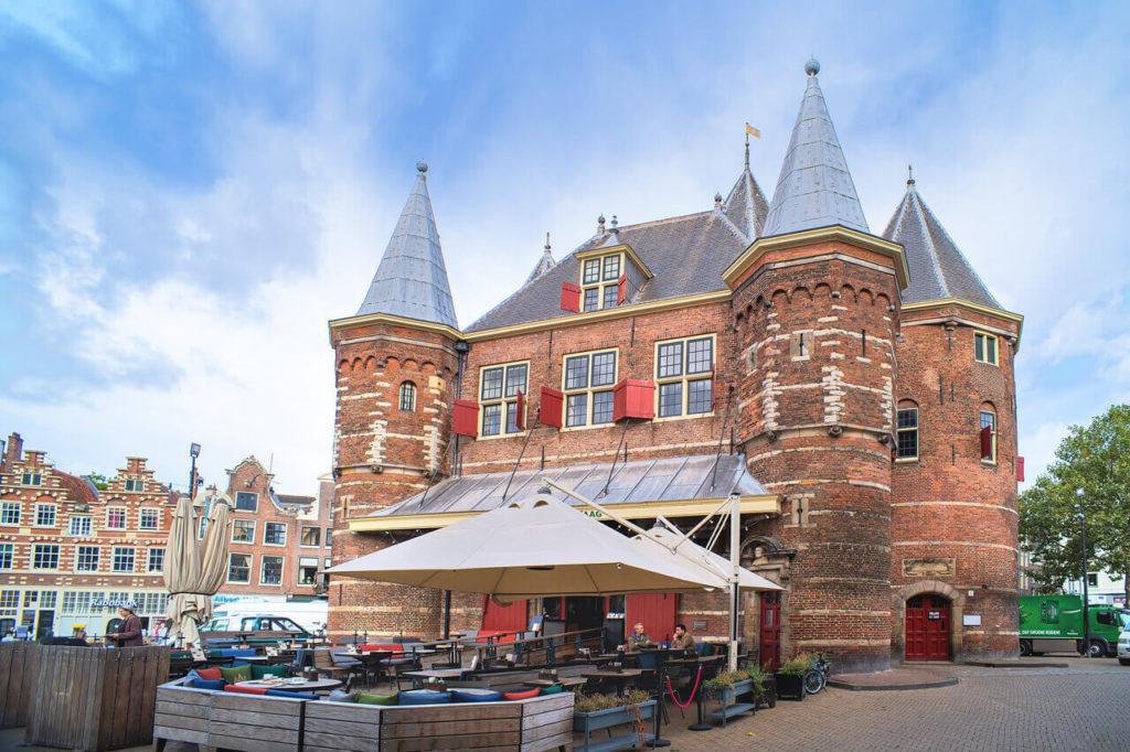 Altes Stadttor von Amsterdam