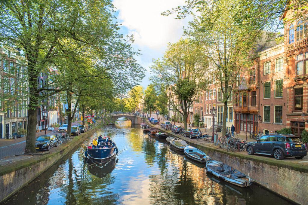 Reisebericht Amsterdam - Grachtenfahrt