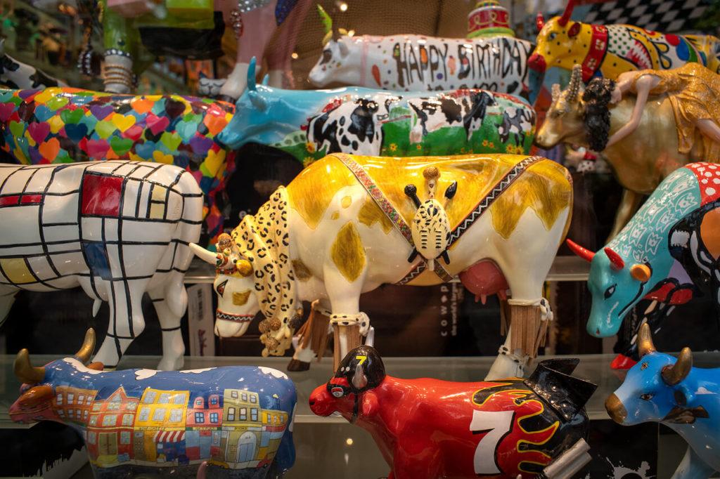 Kuh als Kunstwerk