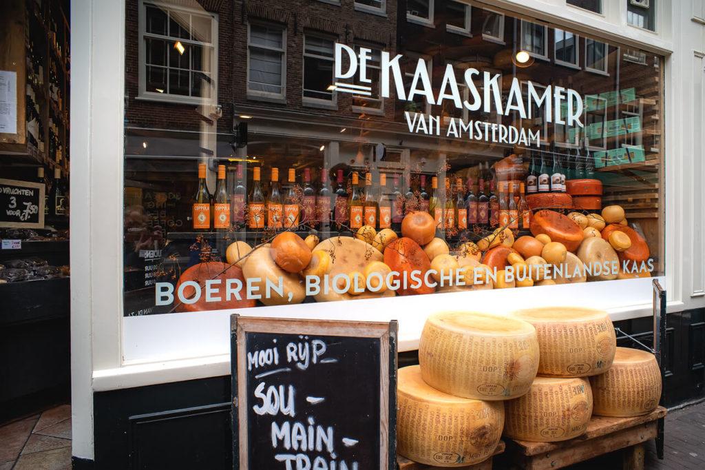 historischer Käseladen in Amsterdam