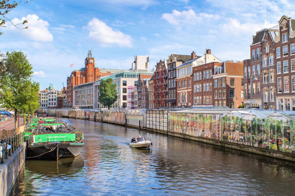 Schwimmender Markt Reisebericht Amsterdam