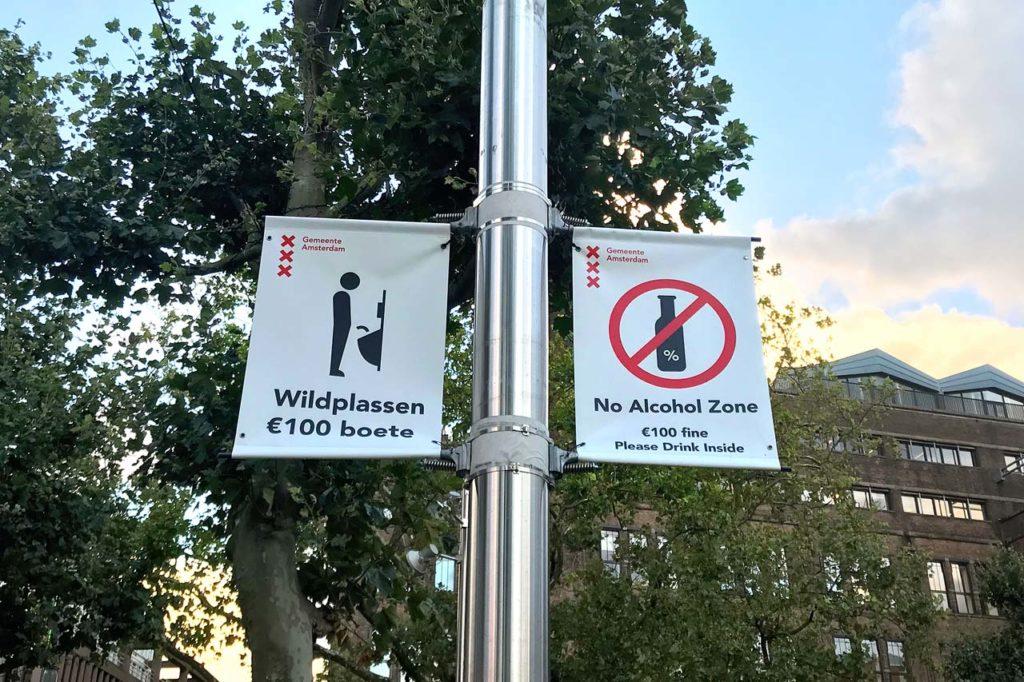 Verbote in Amsterdam